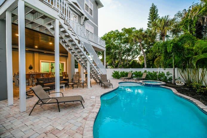 siesta key vacation rentals gulf view