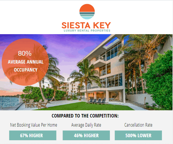 siesta key property management flyer